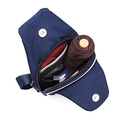 JOTHIN Freizeit Männer Schulter Umhängetasche Wasserdichte Oxford Tuch Blue