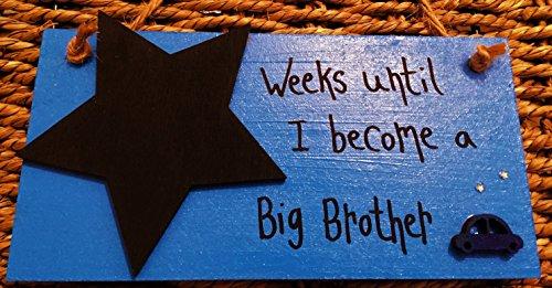 madeat94handgefertigt Baby Countdown Plaque