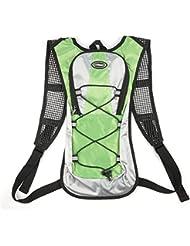 Hydration Sac à dos Sac à dos d'hydratation avec gourde (2L) Pack, système d'hydratation Backpack Idéal pour VTT Vélo Vélo, Randonnée, Courir, camping, pour voyager Escalade Outdoor Sports