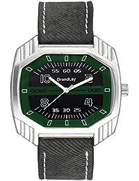 GRANDLAY Analogue Black Dial Men's Watch (Gl-1085)