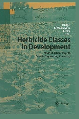 Herbicide Classes in Development: Mode of Action, Targets, Genetic Engineering,