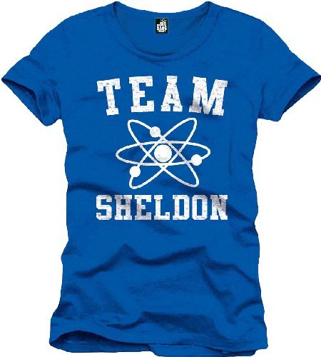 The Big Bang Theory Team Sheldon T-Shirt blau Blau