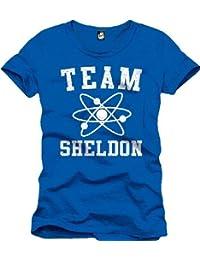 The Big Bang Theory Team Sheldon T-Shirt blau