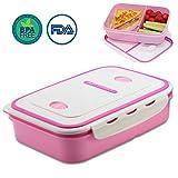 OldPAPA Bento Box,brotdose mit unterteilung,Lunchbox Auslaufsichere Bento Lunchbox,2 Schichten Design Lunch Container für Kinder und Erwachsene,All-in-One stapelbare Lebensmittelaufbewahrung