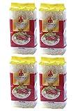 [ 4x 400g ] iCV Reisfadennudeln / Rice Vermicelli / feine Reisnudeln / Bún Gao