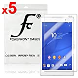 Forefront Cases Displayschutzfolie für Sony Xperia Z3 8-inch Tablet Compact Schutzfolie Screen Protector (Packung mit 5)