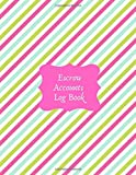 Escrow Accounts Log Book: Escrow Buyers and Sellers Notebook Journal, Third Party Transaction Tracker, Gifts for All Escrow Professionals, ... and Many More, 8.5' x 11', with 110 Pages.