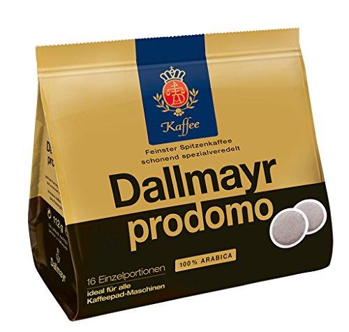 Dallmayr Kaffee Prodomo Kaffeepads, 5er Pack (5 x 16 Pads)