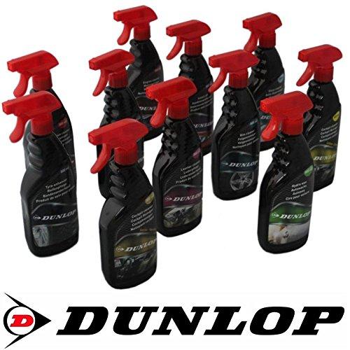 DUNLOP Auto PKW Autopflege Felgenreiniger Lederpflege Polsterreiniger Glasreiniger Insektenentferner Autowachs (Motorreiniger)