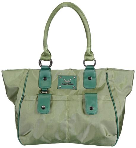 Sansibar  Mayenne, shoppers femme Vert - Grün (green)