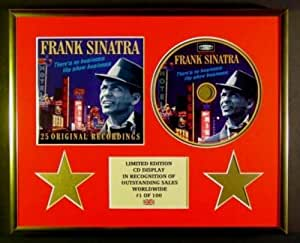 FRANK SINATRA/CADRE CD/EDITION LIMITEE/CERTIFICAT D'AUTHENTICITE/THERE'S NO BUSINESS LIKE SHOW BU...