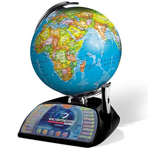 #1118 Interaktiver Globus Connect 2.0 mit Update-Funktion über PC/Mac - Updatefunktion Weltentdecker Spiel Weltkugel Spielglobus