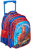 #9: Spiderman Polyester Blue School Bag (Age Group :6-8 yrs)