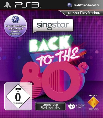 SingStar - Back to the 80's + 2 Mikrofone Wireless (Singstar Wireless Mikrofone)