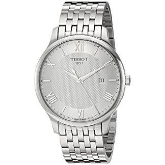 Tissot Tradition – Reloj (Reloj de Pulsera, Masculino, Acero Inoxidable, Acero Inoxidable, Acero Inoxidable, Acero Inoxidable)