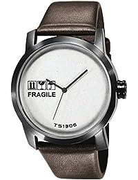 TACS Kraft Analog White Dial Unisex Watch - TS1306B