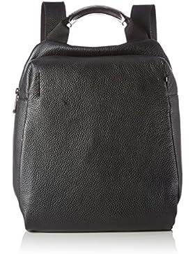 Mandarina Duck Mellow Leather Tracolla - Borse a spalla Donna, Nero, 7x27x27 cm (B x H T)