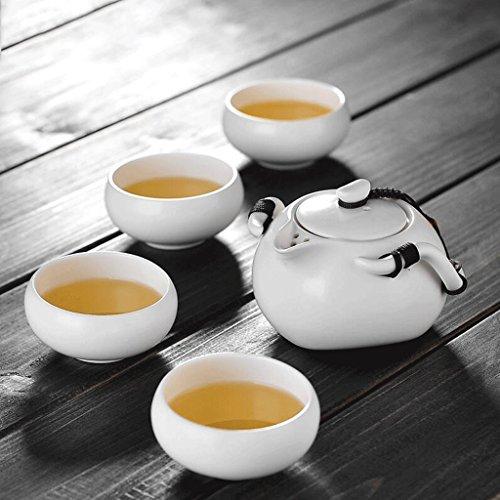 YAGEER CHUO Reise Kung Fu Teeservice Lazy Keramik Teekanne Tasse Teeservice Outdoor Portable 200ml Teekanne (Style : B)