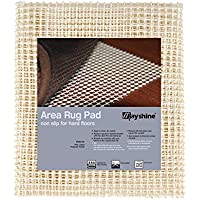 MAYSHINE 100x150 cm Non-Slip Area Rug Pad Mat Underlay Multipurpose for Hard Surface Floor