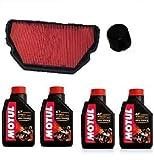 Tecneco Kit Honda CBR 600F 19992000Huile motul 710015W50Filtre huile Air