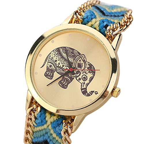 winwintom-elefante-patron-cuerda-trenzada-pulsera-reloj-de-pulsera-amarillo-azul