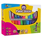 Poco Brian lbps10cmda24 Paint Sticks Bumper Pack, Colores Surtidos