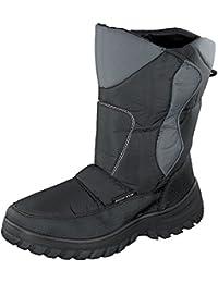 Grit Unisex Fleece-Futter Schnee Stiefel mit Ice Grip