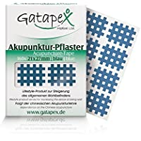 Gatapex Medical 9190226, Gatapex Akupunkturpflaster, Form: Gitter, 160 Stück, Blau