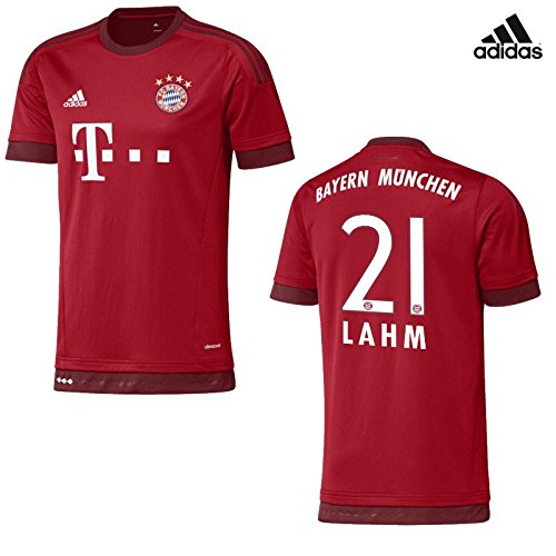 FC Bayern Home Trikot Kinder 2016 - Lahm, Größe:128