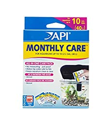 API MONTHLY CARE All-In-One Aquarium Care Additive Pack 1-Count