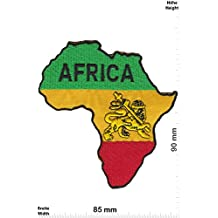Parches - Africa - Countries Patch - Vest - Iron on Patch - Parche Termoadhesivos Bordado Apliques - Patch - Give Away Regalar