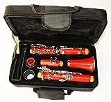 Cherrystone Clarinette avec accessoires - Rouge
