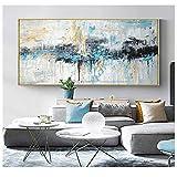 xwwnzdq Arte Abstracto Pintura Moderna Arte de la Pared Pintura de la Lona Cuadros Grandes Pinturas...