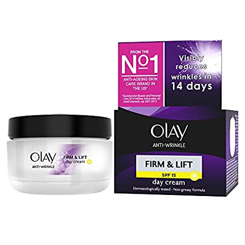 Olay Anti-Wrinkle Firm and Lift SPF 15 Anti-Ageing Day Cream