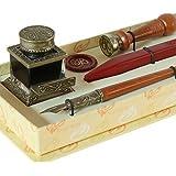 Set bolígrafo y sello lacre bortoletti-set70