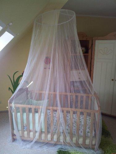 ORIENT Mückennetz Baldachin Insektenschutz für Kinderbett bis Doppelbett