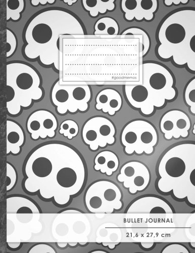 "Bullet Journal • A4-Format, 100+ Seiten, Soft Cover, Register, ""Jugendlich"" • Original #GoodMemos Dot Grid Notebook • Perfekt als Tagebuch, Zeichenbuch, Kalligraphie Buch por GoodMemos Notebooks"