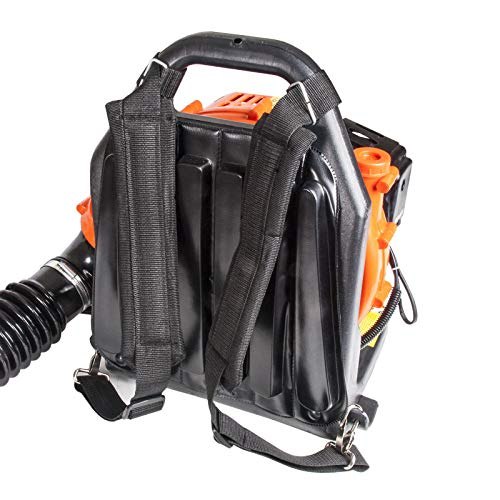 Dealourus 65cc Petrol Backpack Leaf Blower, Extremely Powerful – 210MPH Lightweight With New and Improved Padded Support…