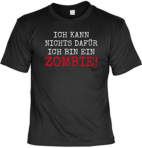 für Halloween! T-Shirt: - Ich kann nichts dafür, ich bin ein ZOMBIE - Horror Party Dead Fun Splatter ()