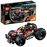LEGO 42073 Technic BASH! Racing Car Toy, Powerful Pull-Back Motor, High Speed Action, 2 in 1 Advanced Building Set