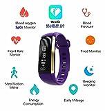 Dax-Hub M2 modello Bluetooth 4.0 IP66 impermeabile intelligente Bracciale con sfigmomanometro pressione sanguigna, ossigeno del sangue (SpO2) ossimetro; Heartrate Controllo della salute Calorie Tracker Sport contapassi frequenza cardiaca sonno monitoraggio Wristband; Telefonata e sincronizzazione del messaggio; Remote Camera; compatibile con Android 4.3 /4.4 /4.5 /5.0 /5.1/6.0, IOS 7.1 8.0 8.1 9.0 9.1 iphone 4s / 5s / 6 / 6S / 7 / 7plus Smartphone