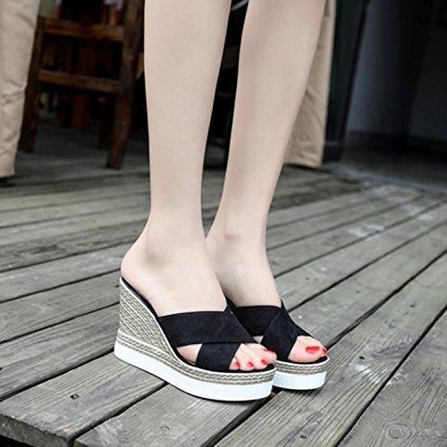 ZYUSHIZ  La Nouvelle d'été sandales Pantoufles 36EU