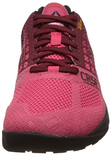 Reebok Crossfit Nano 5.0, Chaussures de Course Femme, Purple et Collegiate Navy Rosa / Noir (Fearless Pink/Merlot/Black/Coal)