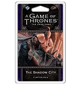 Fantasy Flight Games FFGGT31 The Shadow City Chapter Pack: AGOT LCG 2nd Ed, Multicolor