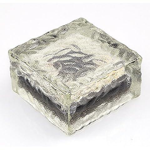 Forma di energia solare LED terra cristallo