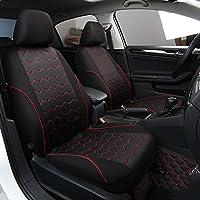 Funda para asientos de coche - fundas de cojín. Accesorios para asientos delanteros y traseros - negro