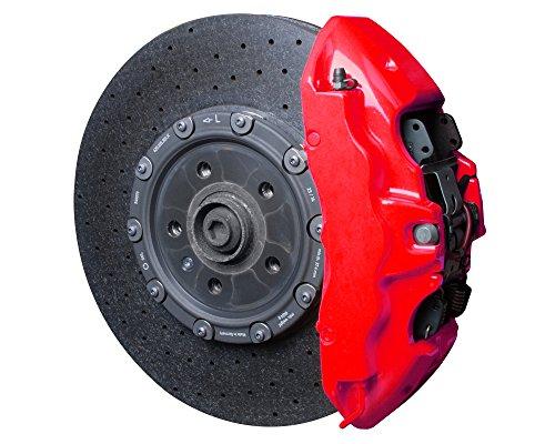 Foliatec 2185 Kit verniciatura Pinza Freno fosf. 4 componenti, Rosso (Neon Red)