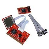 WEIEN PCI Analyzer Diagnosetester Motherboard Diagnose Karte Tester Analysierger?t Laptop PC PTI8 Kunststoff