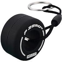 CeFoney - Portachiavi con ciondolo a forma di piccolo pneumatico, in PVC e gomma morbida, ideale come regalo per gli…