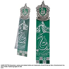Idea Regalo - Noble Collection Slytherin Bookmark